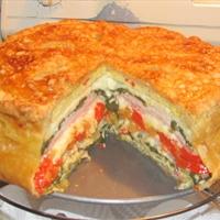 Herb Omelet Torte