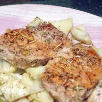 Herbed Pork Tenderloin