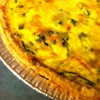 Breakfast Spinach Quiche