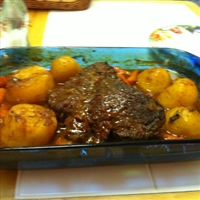 Home Style Beef Brisket (Or Roast Beef)