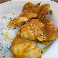 Honey Curried Chicken