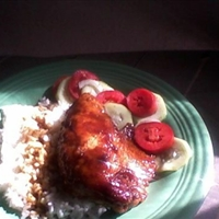 HONEY DIJON BAKED CHICKEN