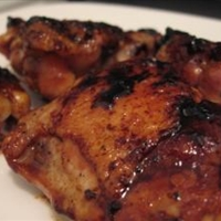 Honey Glazed Slow Cooker Chicken Thighs