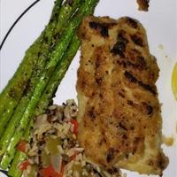 Horseradish-Crusted Rockfish