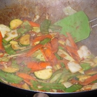 Hot and Sour Stir-Fried Vegetables (Pad Pak Priew Waan)
