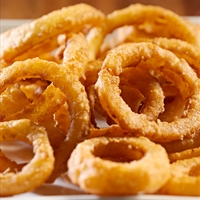Hot and Tasty Onion Rings