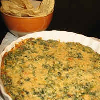 Hot Cheesy Spinach Dip