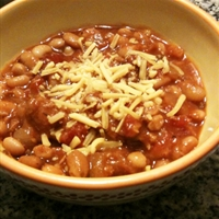 Hot Sausage Chili