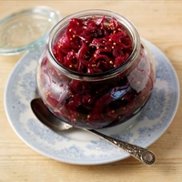 India-Pickled red cabbage