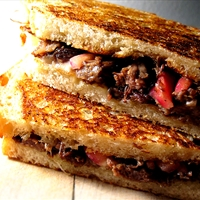India-Short Rib Grilled Cheese Sandwich