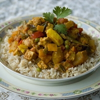 Indian Style Vegetable Curry