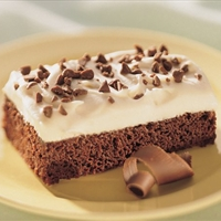 Irish Cream Brownie Dessert