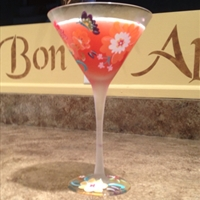 Italian Pomegranate  Martini