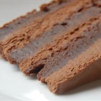 Jenny's Ghiradelli Brownie Cake
