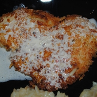 Jodie's best ever parmesan-crusted chicken