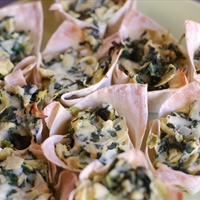 Jodie's Spinach & Artichoke Cups