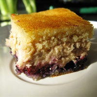 Jo's Almond Blueberry Butter Squares