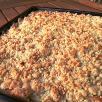 Josh's Apple Crumble