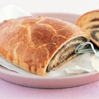 June Meyers Authentic Hungarian Walnut Rolled Strudel (Dios