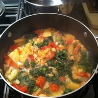 Kale & Potato Soup
