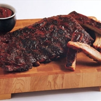 Kansas City-Style Ribs w/ Spicy Apple BBQ Sauce