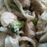 Karen's Light Chicken and Broccoli Alfredo
