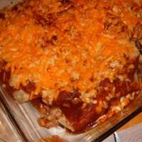 Kat's  version of Chicken Enchiladas