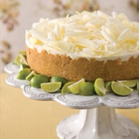 Key lime mouse cake