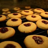 Kid's Pb & J Thumbprint Cookies