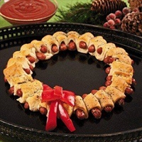 Kilted Sausage Wreath