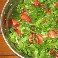 Kim's Strawberry Spinach Salad