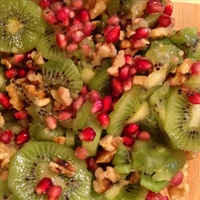 Kiwi, Pomegranate Salad