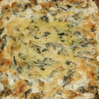 Kristen's Baked Artichoke Spinach Dip
