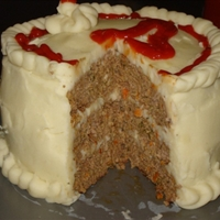 Layer Cake Meat Loaf Recipe