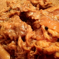 Lechon Paksiw (Roast Pork in Tangy Liver Sauce)