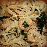 Lemon-Dill Shrimp & Pasta