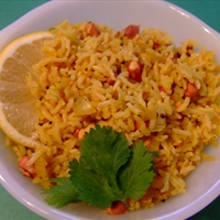 Lemon Rice (Vegan)