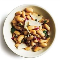 Lemony Bean Salad