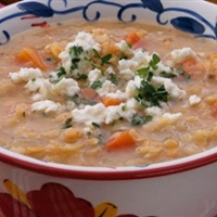 Lemony Lentil Soup