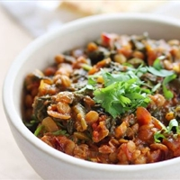 Lentil & Spinach Curry