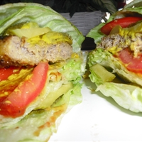 Lettuce Turkey Burgers (No Bun)