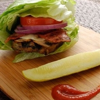 Lettuce Wrap Turkey Burgers