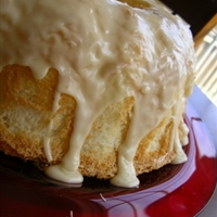 Light and Fluffy Pineapple Angel Cake