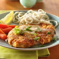 Light Lemon-Sesame Chicken