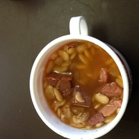 Lima Beans and Ham