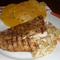 Lime And Cumin Mahi Mahi