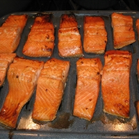 Lime Broiled Salmon