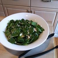 Lindas Special Spinach Salad (1+)