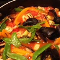 Linguini with Seafood - Buonappetito