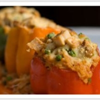 Love Me Tenders Stuffed Peppers with Love